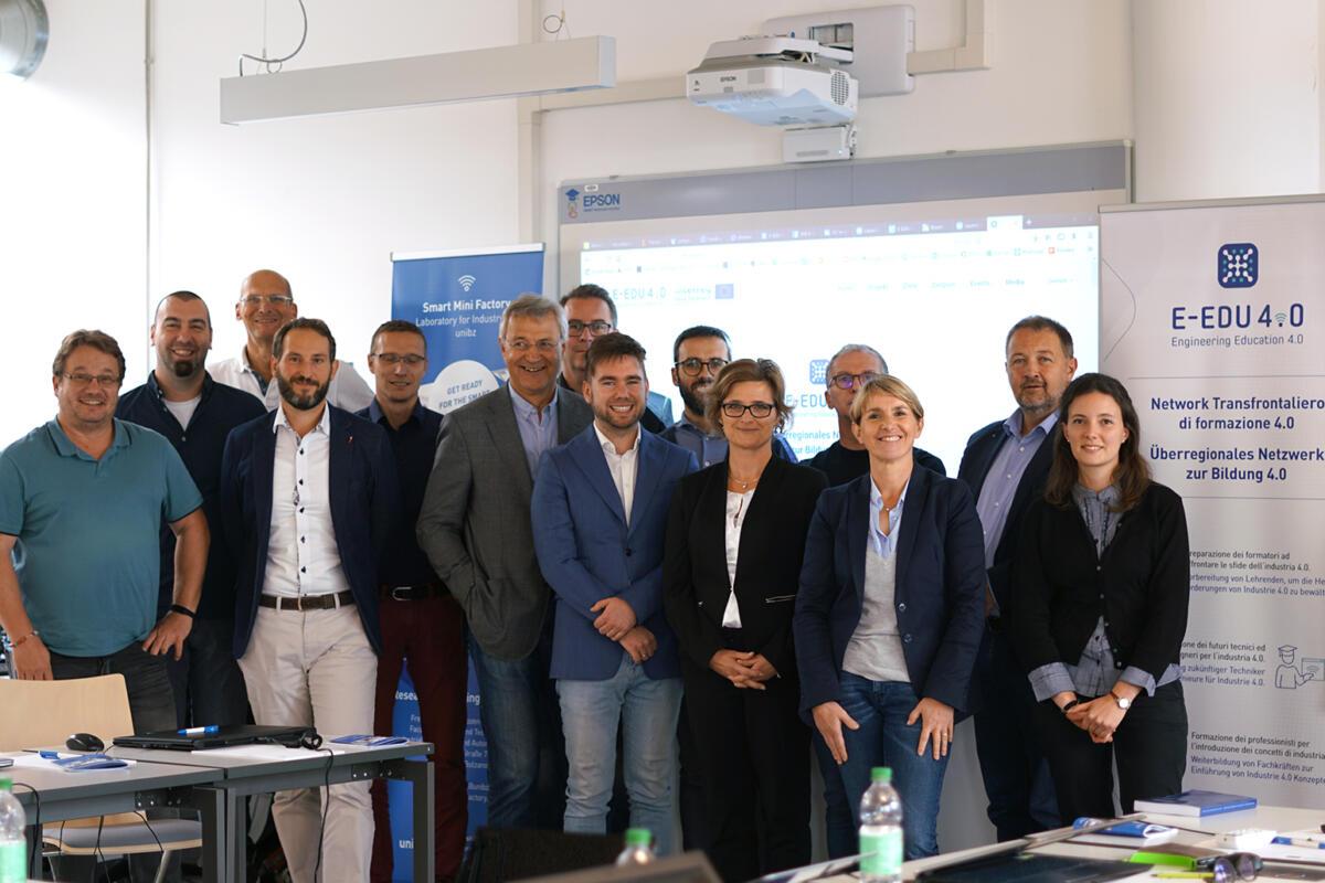 1-E-EDU 4.0 meeting Bolzano 03.10.2019